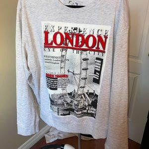 Point Zero graphic sweater